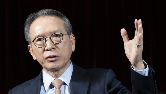 김형오 전 국회의장 [중앙포토]