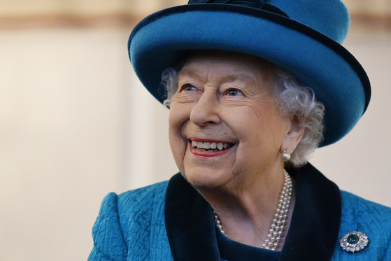 영국 엘리자베스 2세 여왕. [AFP=연합뉴스]
