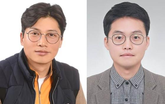 김진운(左), 하경민 (右)