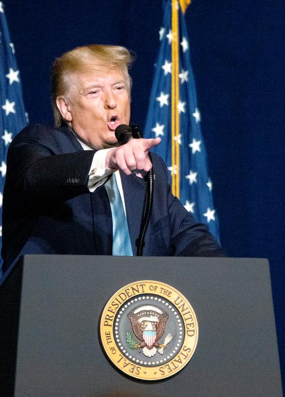 美역사상 세번째, 트럼프 상원 탄핵심판 시작...트럼프 사기극
