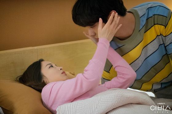 '어비스'에서 박보영과 호흡을 맞춘 안효섭. [사진 tvN]