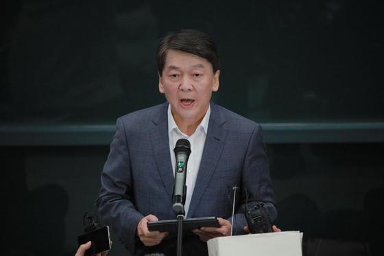 안철수 바른미래당 전 의원이 19일 인천국제공항 제1터미널을 통해 귀국했다. 오종택 기자