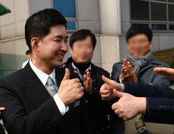박창진 민주노총 전국공공운수노조 대한항공직원연대 지부장. [연합뉴스]