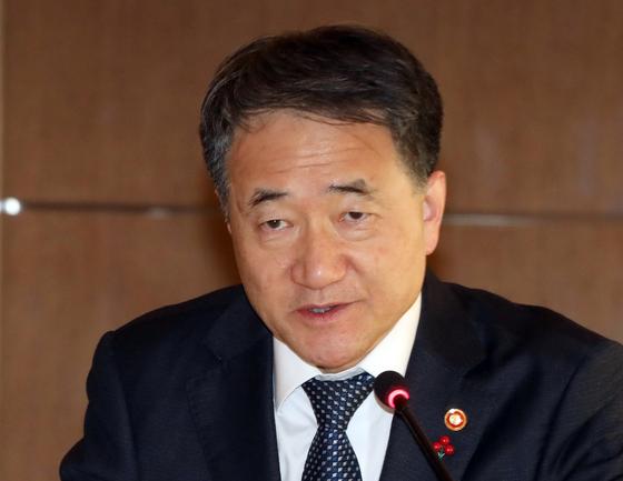박능후 보건복지부 장관. [연합뉴스]