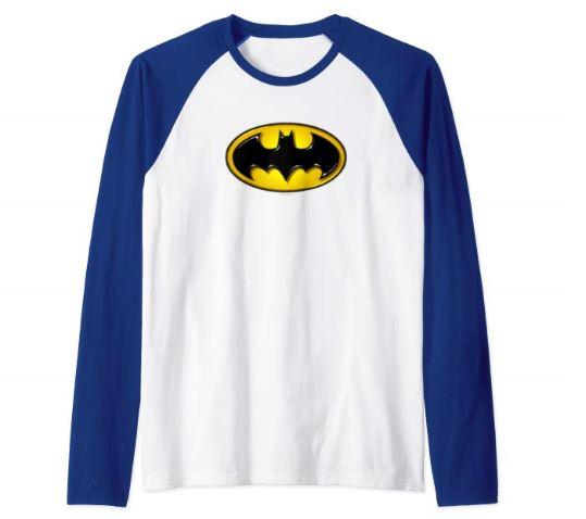 배트맨 로고가 그려진 티셔츠 [Amazon 캡처]