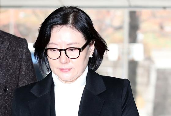 신격호 롯데그룹 총괄회장과 사실혼 관계인 서미경씨. [연합뉴스]