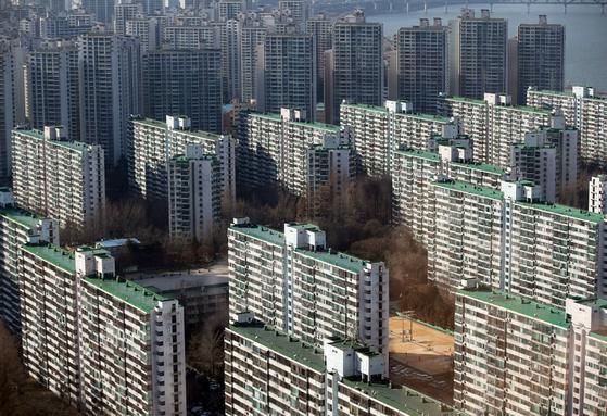 서울 송파구 일대 아파트 단지의 모습. [연합뉴스]