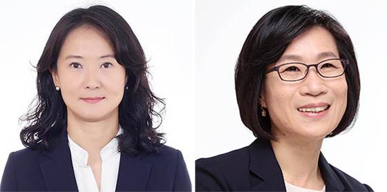 김미경(左), 김제남(右)