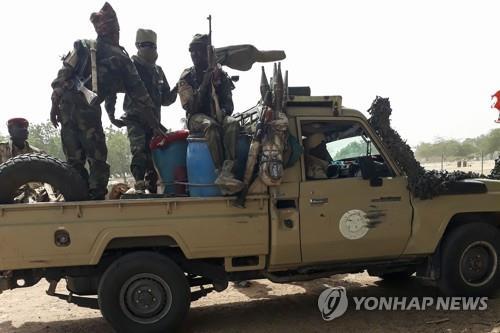 아프리카 차드의 군인들. [AFP=연합뉴스]