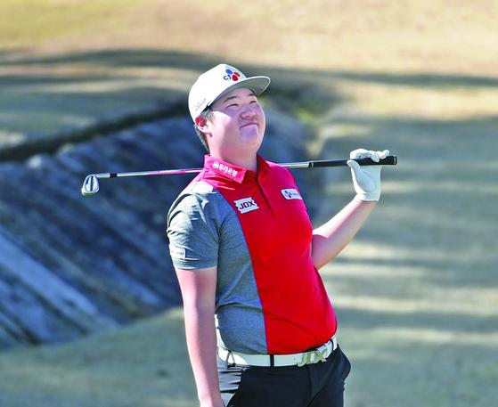 PGA 투어 아메리칸 익스프레스에서 새해 첫 톱10에 오른 임성재. [AFP=연합뉴스]