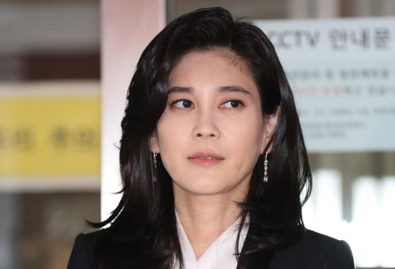 주주총회 참석하는 이부진 호텔신라 사장. [연합뉴스]
