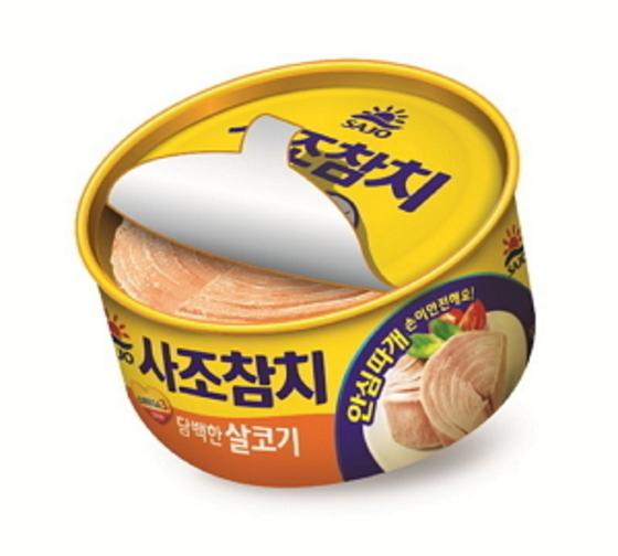 사조그룹 인기 제품인 '사조참치'. [사조]
