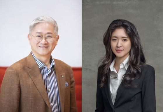 서경배 회장(왼쪽)과 서민정 씨. [사진 아모레퍼시픽]