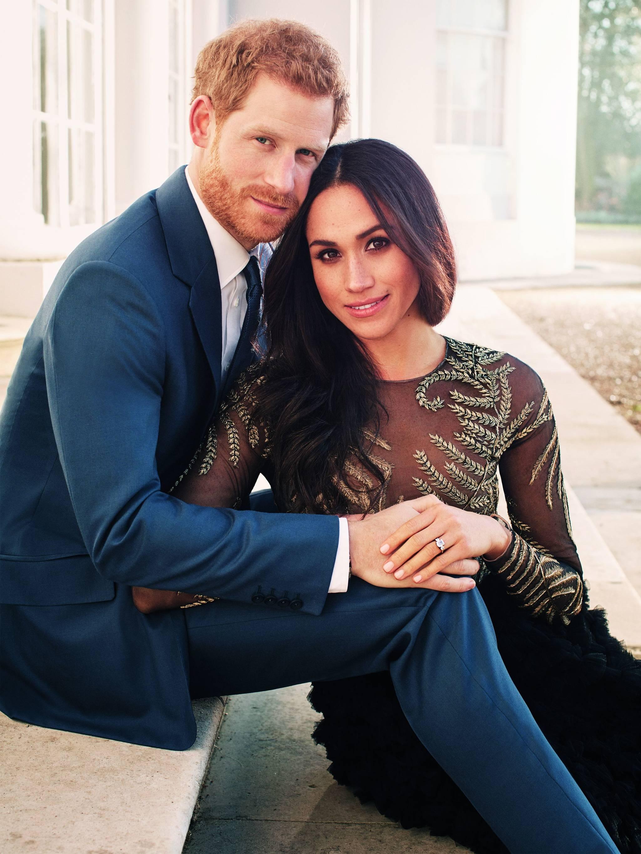 해리 왕자 커플 공식 약혼 사진. [AFP=연합뉴스]