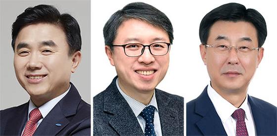 전영묵 대표, 김대환 대표, 심종극 대표(왼쪽부터)