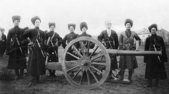 제1차 세계대전 중 이란에 침입한 러시아군의 모습. [위키피디아]