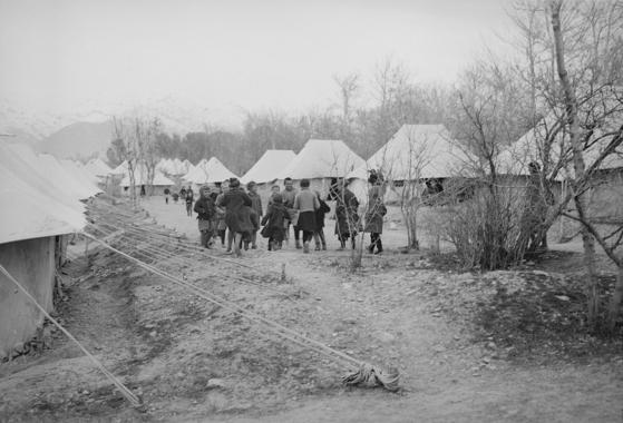 제2차 세계대전 중 이란을 침공한 소련군은 자국에 있던 폴란드 난민을 이란에 데려와 전쟁이 끝날 때까지 머물게 했다. [위키피디아]