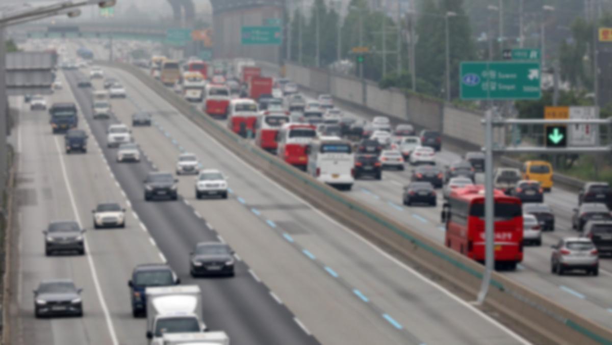 기사 내용과 관련 없는 경부고속도로 자료 사진. [뉴스1]