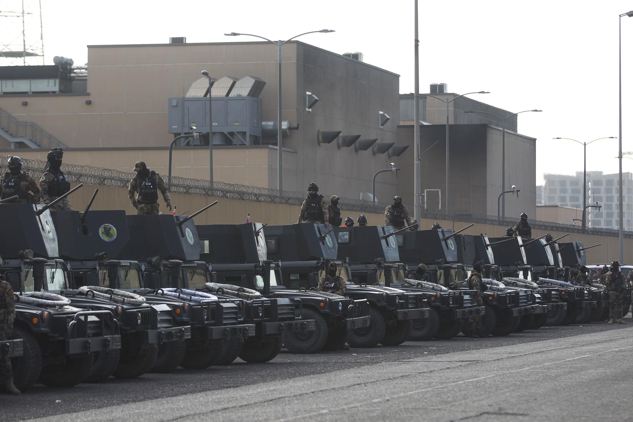 이라크 바그다드 주재 미국 대사관. [AFP=연합뉴스]