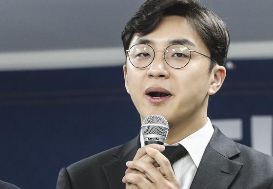 """진중권 '원종건 미투 의혹'에 """"조국 주니어, 각별히 모셔라"""