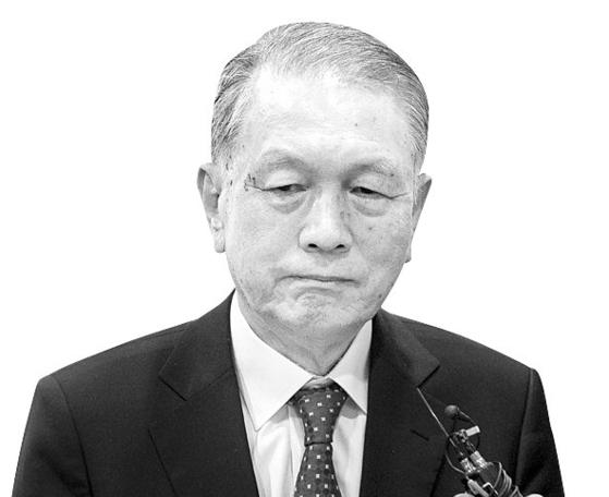김기춘 전 청와대 비서실장의 모습. [뉴스1]
