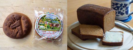 (좌)스위스 비버(Biber), (우)네덜란드 온트베이트쿡(Ontbijtkoek). [사진 Wikimedia commons]