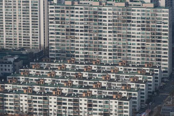 서울 도심 아파트 단지의 모습. [뉴스1]