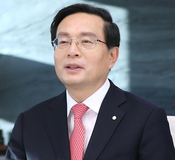 손태승 우리금융지주 회장. [중앙포토]