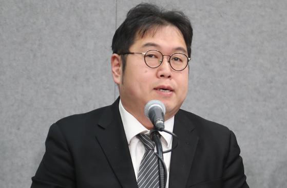 김용민 평화나무 이사장. [연합뉴스]