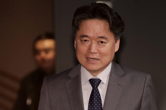 지난해 드라마 '더 뱅커' 제작발표회에 참석한 최승호 MBC 사장. [연합뉴스]