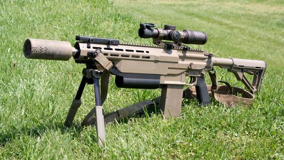 미국 육군의 6.8㎜ 차세대 소총(NGSW-R). 미 육군은 이르면 올해 말 최종 사업자를 뽑고, 2022년부터 배치할 계획이다. [사진 미 육군]