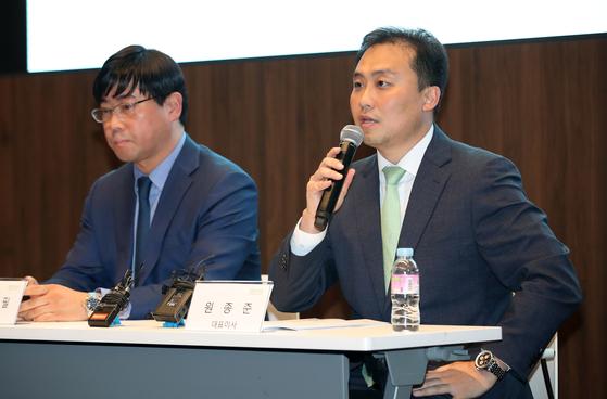 원종준 라임자산운용 대표이사(오른쪽) [뉴스1]