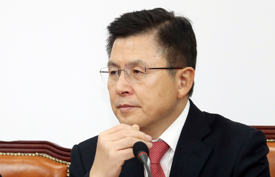 황교안 자유한국당 대표. [뉴스1]
