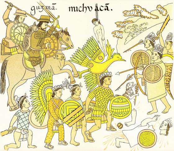 몇 만이 되는 아즈텍 제국이 천 명도 안 되는 스페인 군대에게 몰살당한 것은 군대의 힘보다 균의 힘이었다. 이 때 가장 큰 전염병으로 밝혀진 것이 천연두이다. [사진 Pixabay]