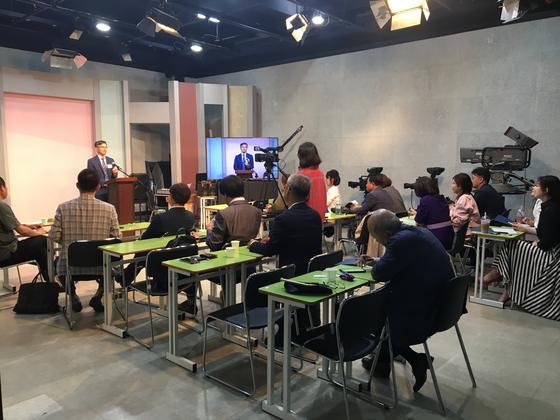 〈제5기 MBC 스피치 최고위 과정 수업 사진〉
