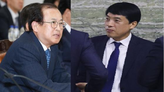 문찬석 광주지검장(왼쪽)과 이성윤 서울중앙지검장. [뉴스1]