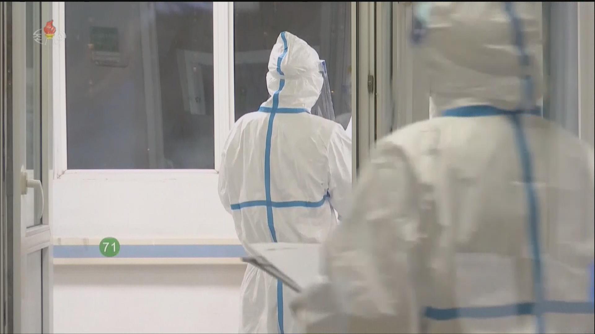 북한 관영 조선중앙TV가 신종 코로나바이러스 관련 내용을 보도하고 있다. [사진 조선중앙TV]