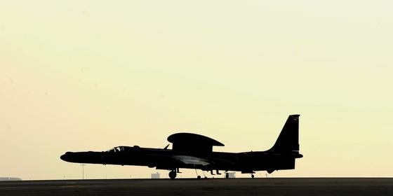 미국 공군의 고고도 정찰기인 U-2 드래곤레이디. [사진 미 공군]