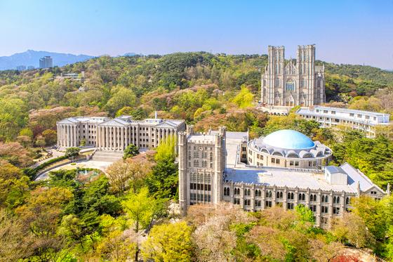 경희사이버대학교가 위치한 경희대 서울캠퍼스 전경