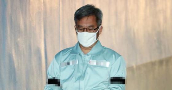 댓글 조작 등의 혐의 등으로 기소된 드루킹 김동원씨. [뉴스1]