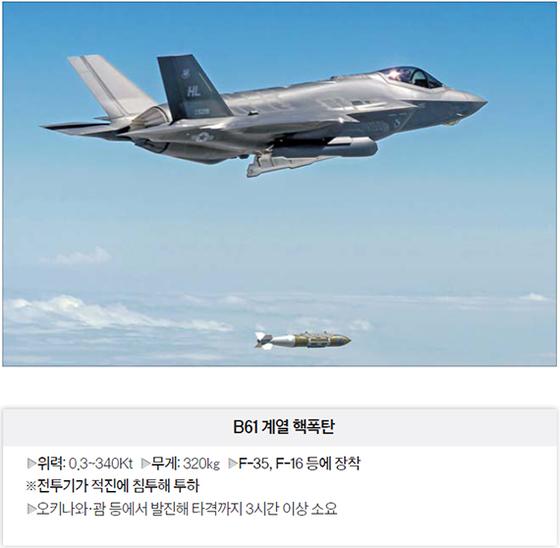 북핵 억지 미국 전술핵