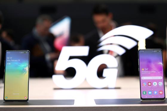 세계 최초의 5G 스마트폰인 갤럭시 S10 5G [로이터=연합뉴스]