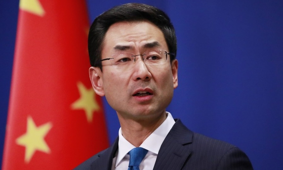 겅솽 중국 외교부 대변인. [연합뉴스]