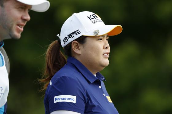 호주여자오픈에서 LPGA 투어 개인 통산 20승을 노리는 박인비. [AP=연합뉴스]