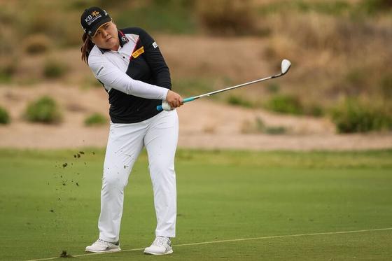 호주여자오픈 3라운드 단독 선두에 나선 박인비. [사진 Golf Australia]