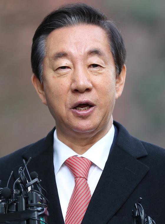 자유한국당 김성태 의원[연합뉴스]