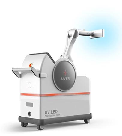 전염병 살균이 가능한 UV LED 살균 로봇