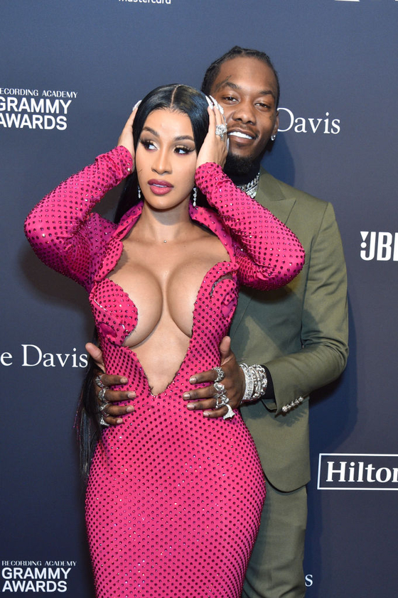 Cardi B and Offset (Photo by Gregg DeGuire/Getty Images for The Recording Academy)