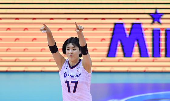 올림픽 본선행을 이끌었던 이재영. [사진 국제배구연맹]
