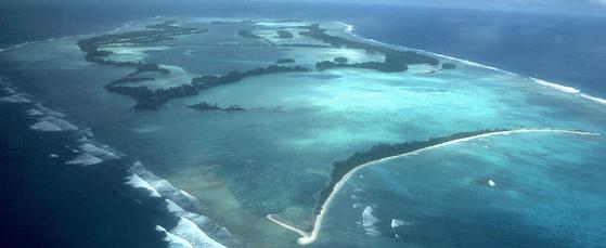 1977년 3월 지미 카터 미국 행정부는 일본 정부에 원전의 사용후 핵연료를 반출해 태평양의 미국령 팔미라 환초에 저장하자고 제안했다. [AP=연합뉴스]